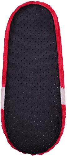 Womens Slippers Fleece Lined House Shoes for Women Non-Slip Soft Sole Slipper Red WTp7ZGu