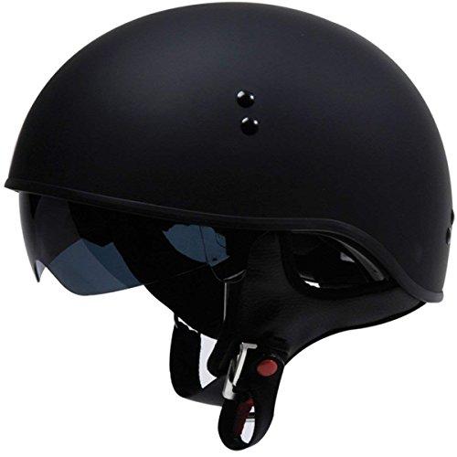 TORC T55 Spec-Op Half Helmet (Flat Black, X-Small)