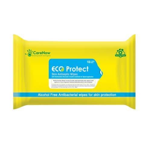 Eco Protect Skin Antiseptic Adult Bathing Wipes - X Large 10 Wipes