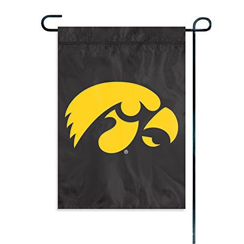 Party Animal NCAA Iowa Hawkeyes Garden Flag