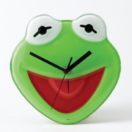 ENESCO Enchanting Disney Wanduhr Kermit der Frosch