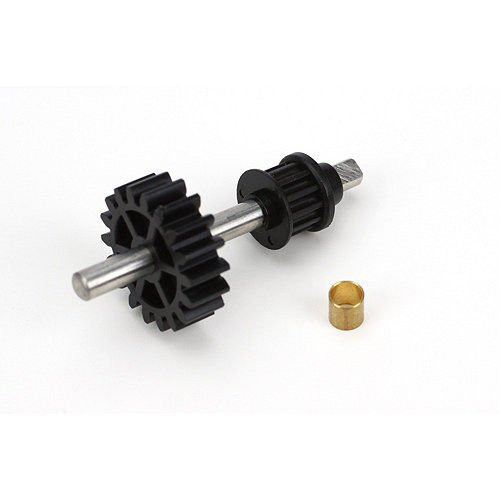 NEW Blade BLH1655 Tail Drive Gear/Pulley Assembly 450 3D / X .HN#GG_634T6344 - Tail Pulley Drive