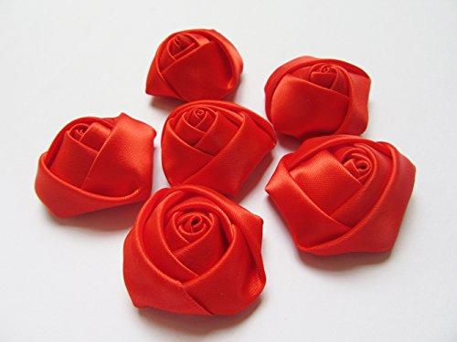 YYCRAFT Pack of 30 Satin 4d Rose 1.5