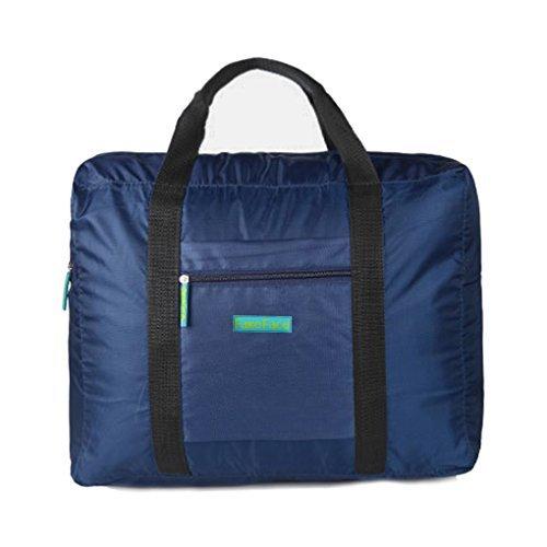 Reisetasche, Kleidertasche, Wasserdichte Damen & Herren Aufbewahrungstasche Nylon Tasche für Reise Große Kapazität Faltbare Bag Storage Wandern Sport Urlaub Outdoor