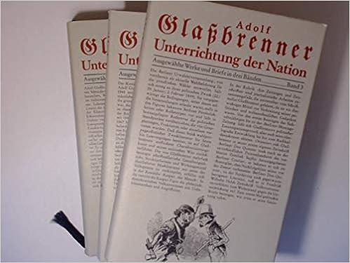 Werke von Adolf Glaßbrenner (German Edition)