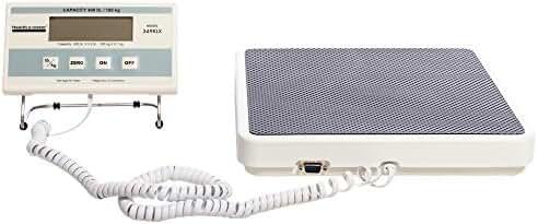 Health O Meter 349KLX Digital Scale, Remote Display, Capacity 400 lb., Resolution 0.2 lb., 12-1/2