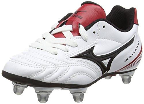 quality design 4d6ba 81efb chinese Red Mizunowaitangi Bianco Bambini Per Jr white Unisex Rugby black  xBxqn7Tp