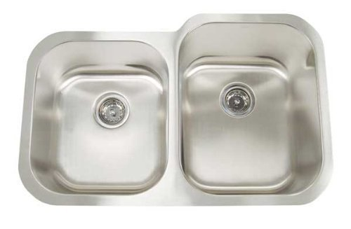 Artisan AR 3221 D108R-D 16-Gauge Undermount Double Basin Kitchen Sink by Arthur Tourot9CA2B5F414DA11DF981A72F63954DF2DKP by Arthur Tourot9CA2B5F414DA11DF981A72F63954DF2DKP