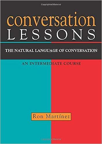 Conversation Lessons: The Natural Language of Conversation ...