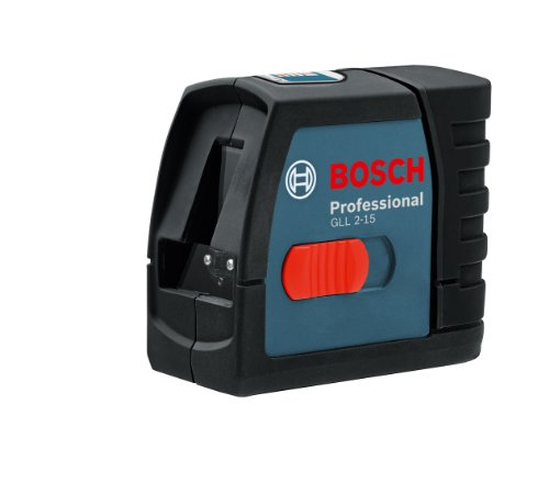 Bosch GLL 2-15 Self-Leveling Cross-Line Laser Kit- Discontinued by (Crossline Laser Level Kit)
