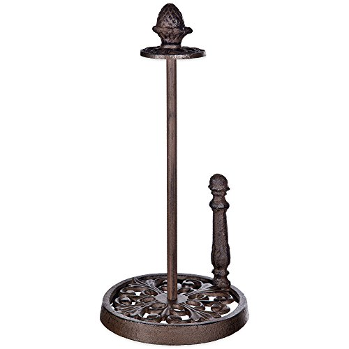 Cast Iron Paper Towel Holder