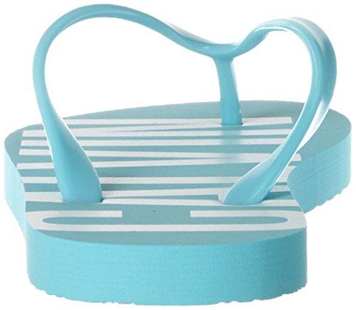 Calvin Klein Ff Sandal, Chanclas para Mujer Azul (Blue Radiance 480)