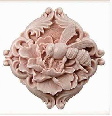 Let'S Diy Bees Gather Nectar Handmade Soap Mold Silicone Candle Moulds