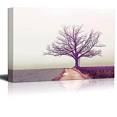 Canvas Wall Art - Modern Home Decor Stretched and Framed Ready to Hang