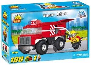 New! COBI Action Town Support Vehicle 100 Piece Building Block Set