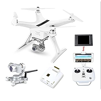 Tovsto Uluru Drone 2.4G RC Quadcopter One Key Return / Failsafe / Headless Mode / Control the Camera / Access Real-Time