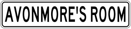 avonmores-room-kids-custom-boys-room-sign-heavy-duty-9x36-quality-aluminum-sign