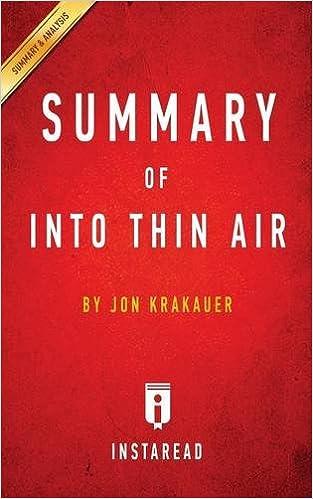 critical essay on into thin air