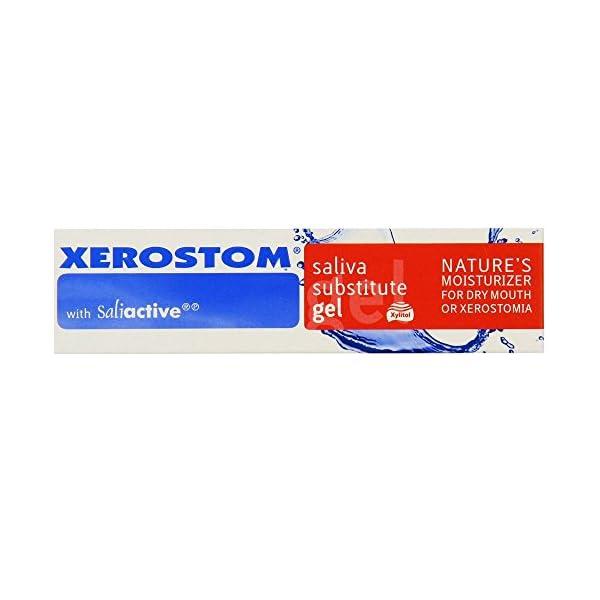 Xerostom Sustituto Salival en Gel, con Saliactive para boca Seca o xerostomía 25 ml 1
