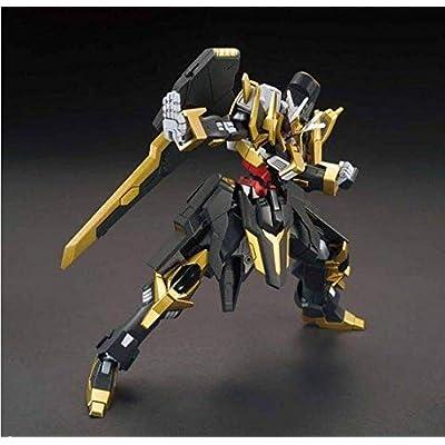 HGBF 1/144 Gundam Schwarzritter Plastic Model: Toys & Games