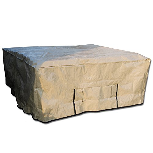Protecta Spa Outdoor Protective Spa Cover - 100 x 100 Inches by Hinspergers