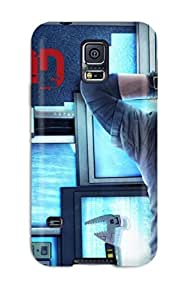 Awesome Watch Dogs Bad Blood Flip Case With Fashion Design For Galaxy S5