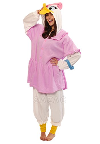 [Daisy Duck Kigurumi (Adults)] (Donald Duck Costumes For Adults)