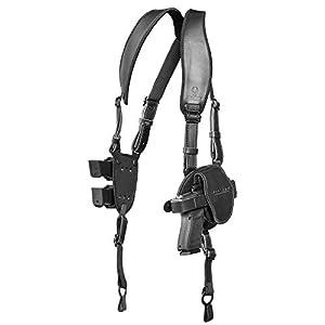 Alien Gear holsters ShapeShift Shoulder Holster (Black Leather)