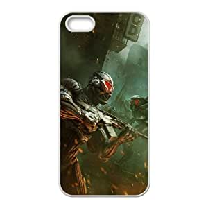 Crysis 2 Game iPhone 4 4s Cell Phone Case White yyfabc-338336