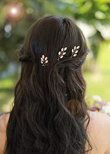 Missgrace 3pcs Wedding Bridal Crystal Rhinestone