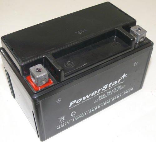 Ytz10s 12v 8 6ah replacement battery for honda cbr600rr 03 for Honda battery cost