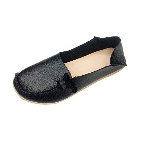 Schwarz Flach Schwarz Schuhe Gr 36 Gummi Gelb Gemütlich Mokassins Beige 43 Damen Transer® Kunstleder U5qtO