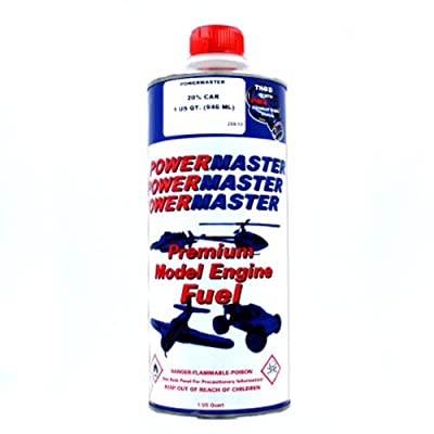 20% Nitro Fuel - 1 Quart - Nitrofuel - By PowerMaster