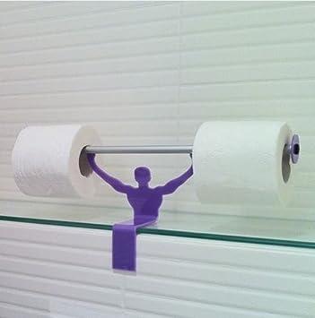 Strong Man Bathroom Novelty Toilet Paper Tissue Roll Holder