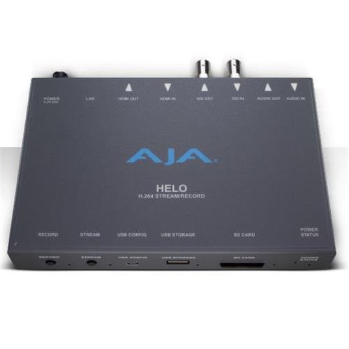 AJA HELO H.264 Streamer and Recorder by Aja