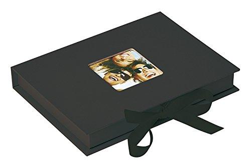 Walther Design FB-112-B caja de fotos Fun para 70 fotos en el formato 13 x 18 cm, negro