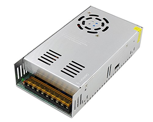 Xunba_Tech 24V 20A 500W Switching Power Supply Driver for CCTV camera LED Strip AC 100-240V Input to DC 24V