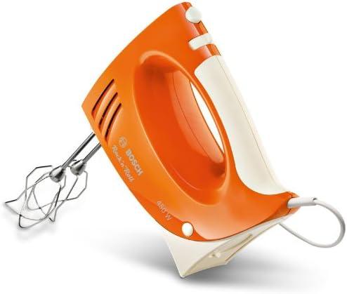 Bosch MFQ3532 Rock n Roll - Batidora amasadora (450 W), color naranja: Amazon.es: Hogar