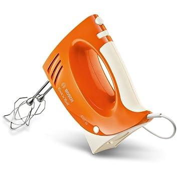 Bosch MFQ3532 Rock n Roll - Batidora amasadora (450 W), color naranja
