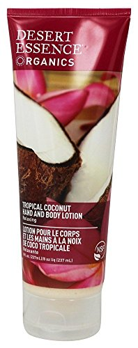 Desert Essence Coconut Hand and Body Lotion 8fl oz