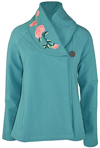 Embroidered Swing Jacket
