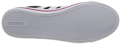 Adidas - D Summer - F99213 - Colore: Bianco-Nero-Rosso - Taglia: 43.3