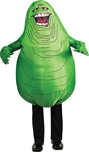 [Ghostbusters Adult Inflatable Slimer Set, Green, Standard] (Ghostbusters Womens Costume)