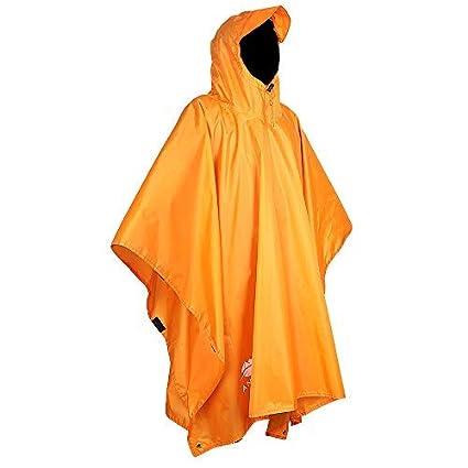 8159904fd121e Anyoo Waterproof Rain Poncho Lightweight Reusable Hiking Rain Coat Jacket  with Hood for Boys Men Women Adults: Amazon.co.uk: Kitchen & Home