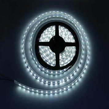 Waterproof DC 12V 3528 SMD 600 LEDs Cool White 5Meter Bright LED Strip Lights