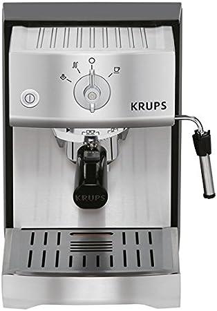 Krups XP5240 - Cafetera (Independiente, Negro, Acero inoxidable, Acero inoxidable, De café molido, Vaina, Café expreso, 1,1L): Amazon.es: Hogar