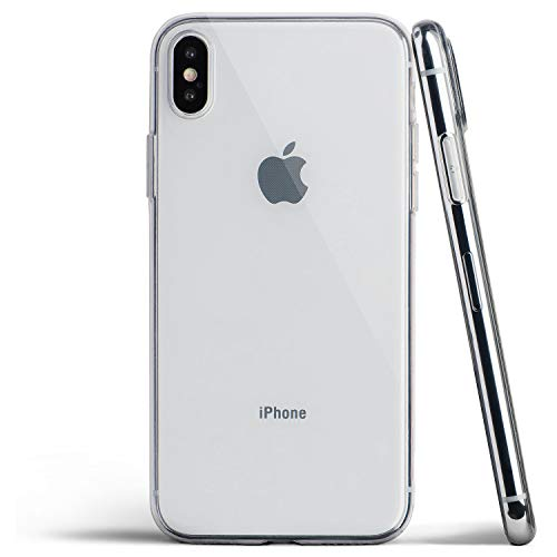 New Clear iPhone Xs Max Case, Thin Soft Cover Slim Flexible TPU - for Apple iPhone Xs Max (2018) - totallee (Transparent)