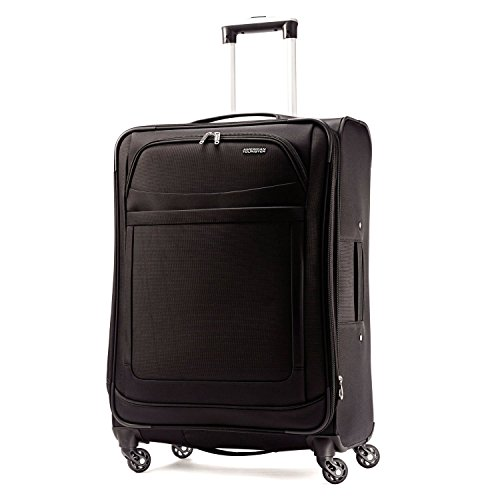 American Tourister Ilite Max Softside Spinner 29, Black by American Tourister