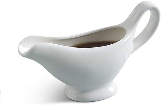 30 oz. White Porcelain Gravy Boat