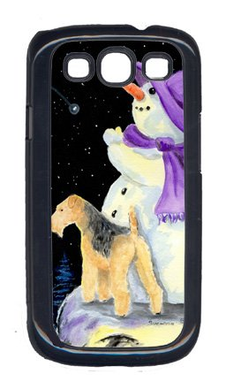 Carolines Treasures SS8956GALAXYSIII Snowman With Lakeland Terrier Galaxy S111 Cell Phone Cover